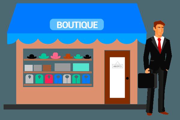 fuerzas de ventas :boutique