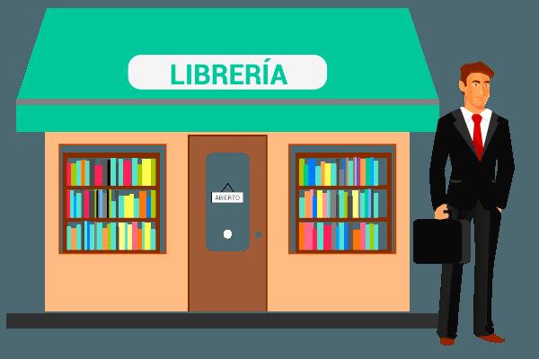 fuerzas de ventas : librerias