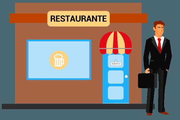 fuerzas de ventas: restaurantes