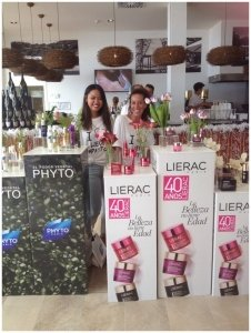 stand promocionar lierac y phyto
