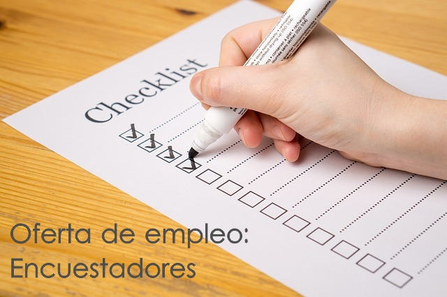 Oferta de empleo: Encuestadores toda España