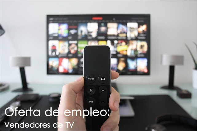 Oferta de trabajo: Vendedores de televisores en Pamplona