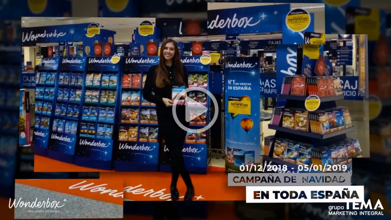 Wonderbox Grupo TEMA El Corte Inglés