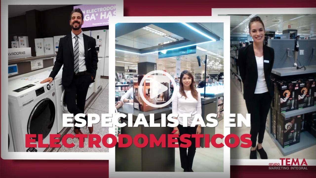 Grupo TEMA – Especialistas en electrodomésticos
