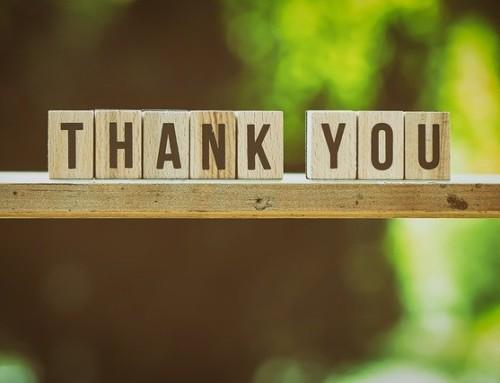 Gracias: Sois únicos e irrepetibles